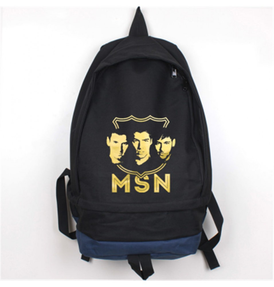 Timecosplay FC Barcelona Messi Logo School bag Backpack