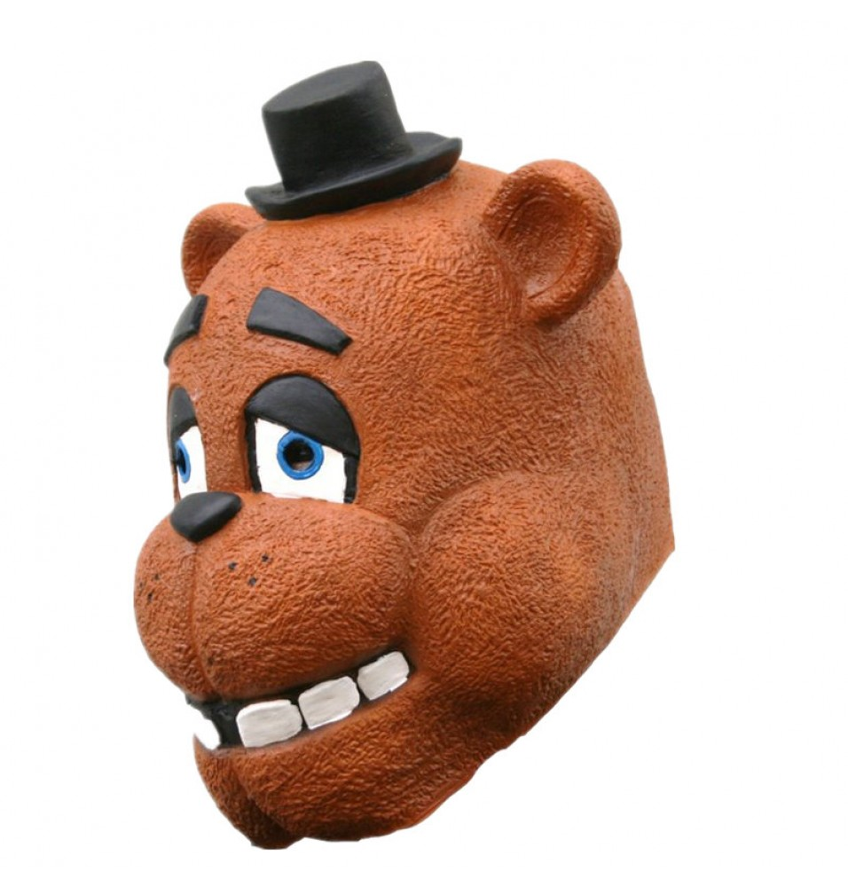 TimeCosplay Five Nights at Freddy's Freddy Fazbear Foxy Cosplay Latex Mask Halloween