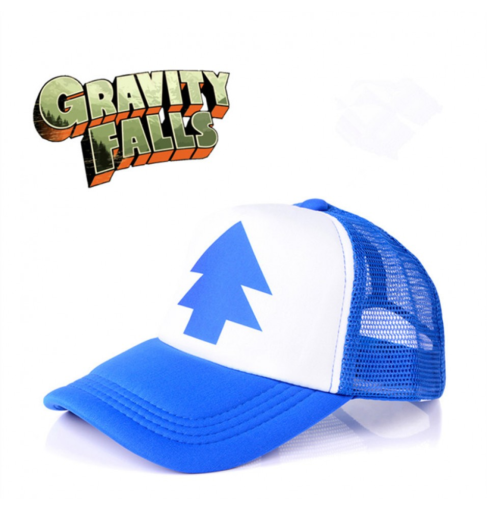Timecosplay Gravity Falls Dipper Pines Cosplay Cap Trucker Hat One Size
