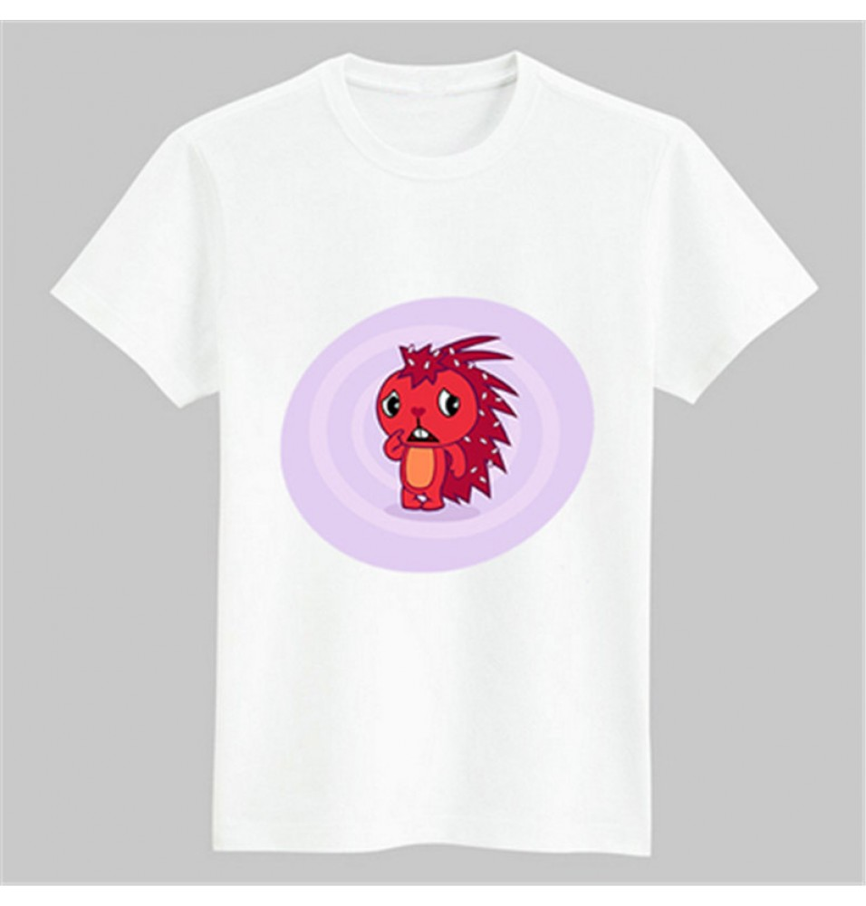Timecosplay Happy Tree Friends Flaky Tee Shirts