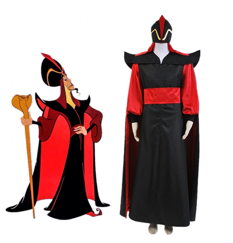 Timecosplay Jafar Villain Cosplay Outfit Costume For Aladdin