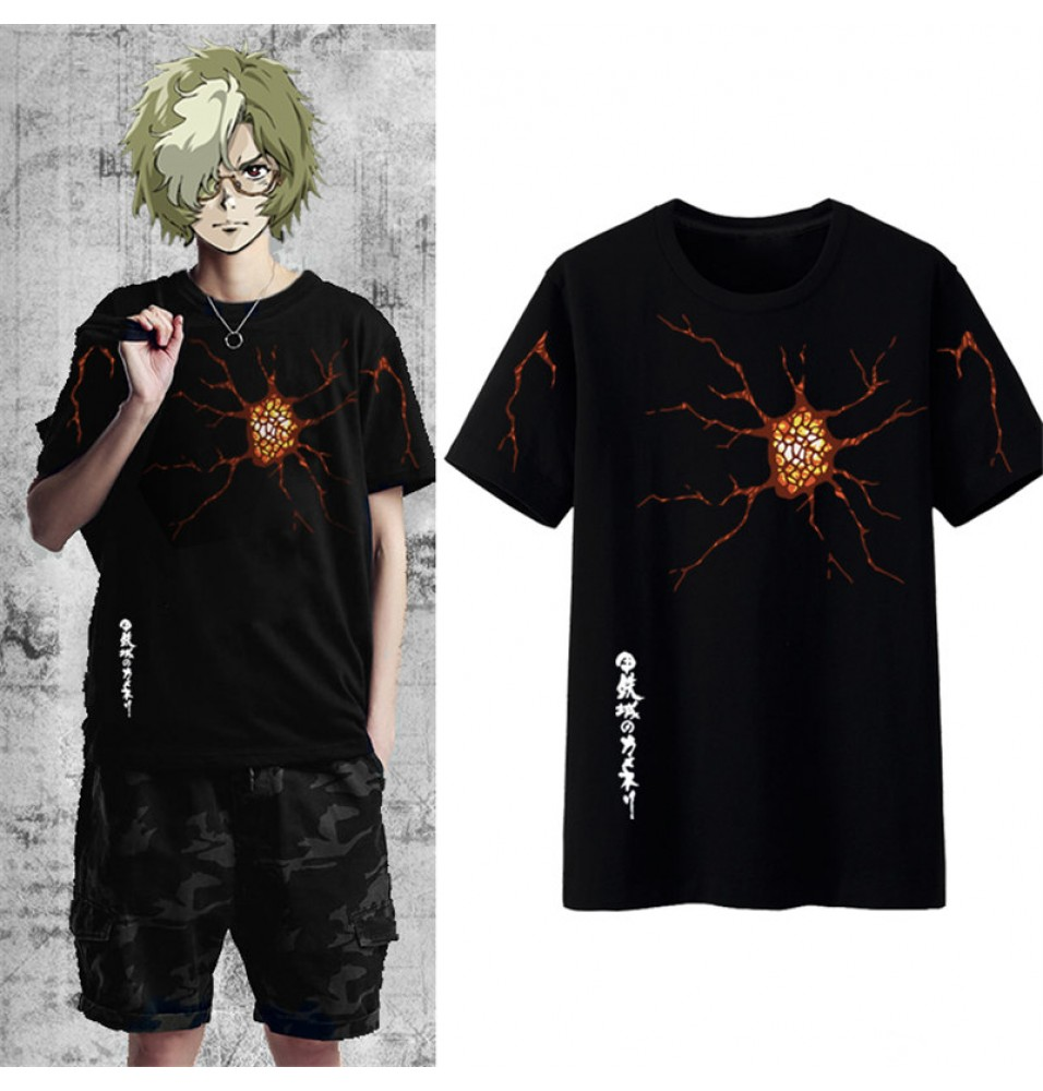 Timecosplay Kabaneri Of The Iron Fortress Ikoma Men Cosplay Tee Shirt