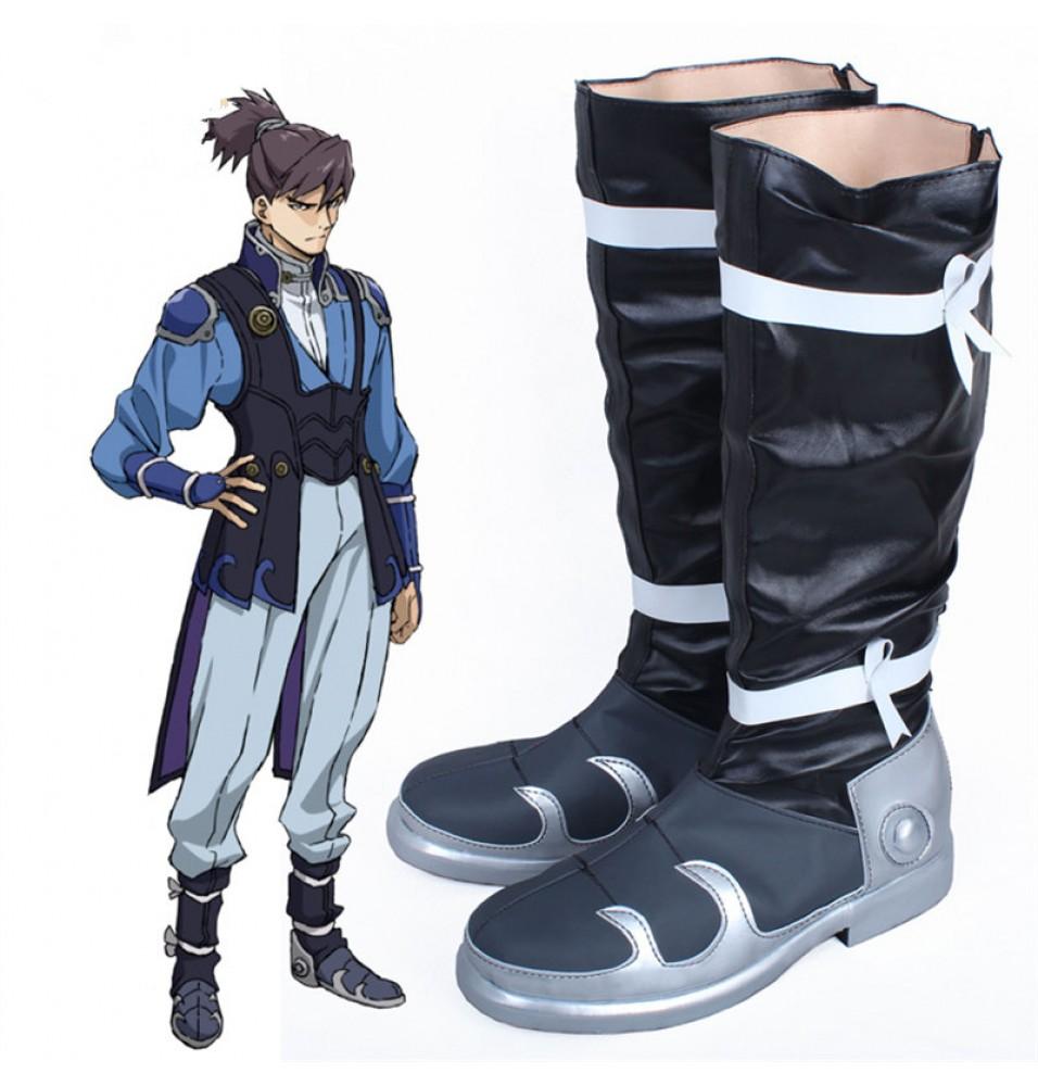Timecosplay Kabaneri of the Iron Fortress Kurusu Blue Shoes Cosplay Boots