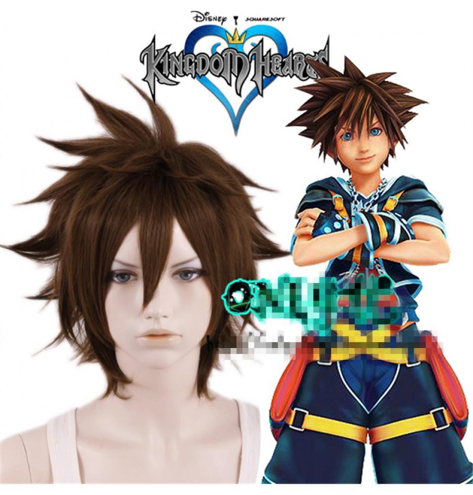 Timecosplay Kingdom Hearts Sora Cosplay Wigs