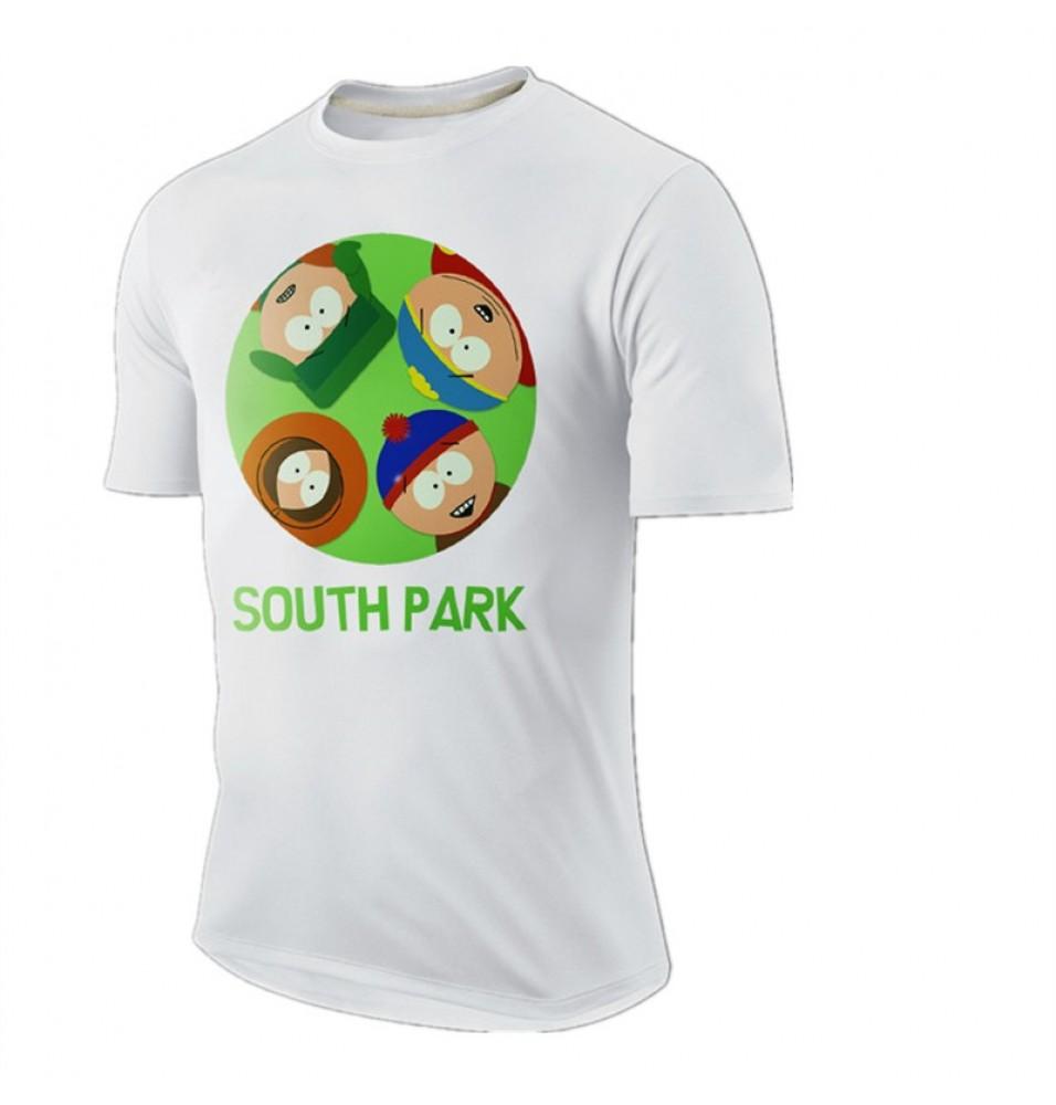 Timecosplay Merchandise South Park Short Sleeve Tee Shirts
