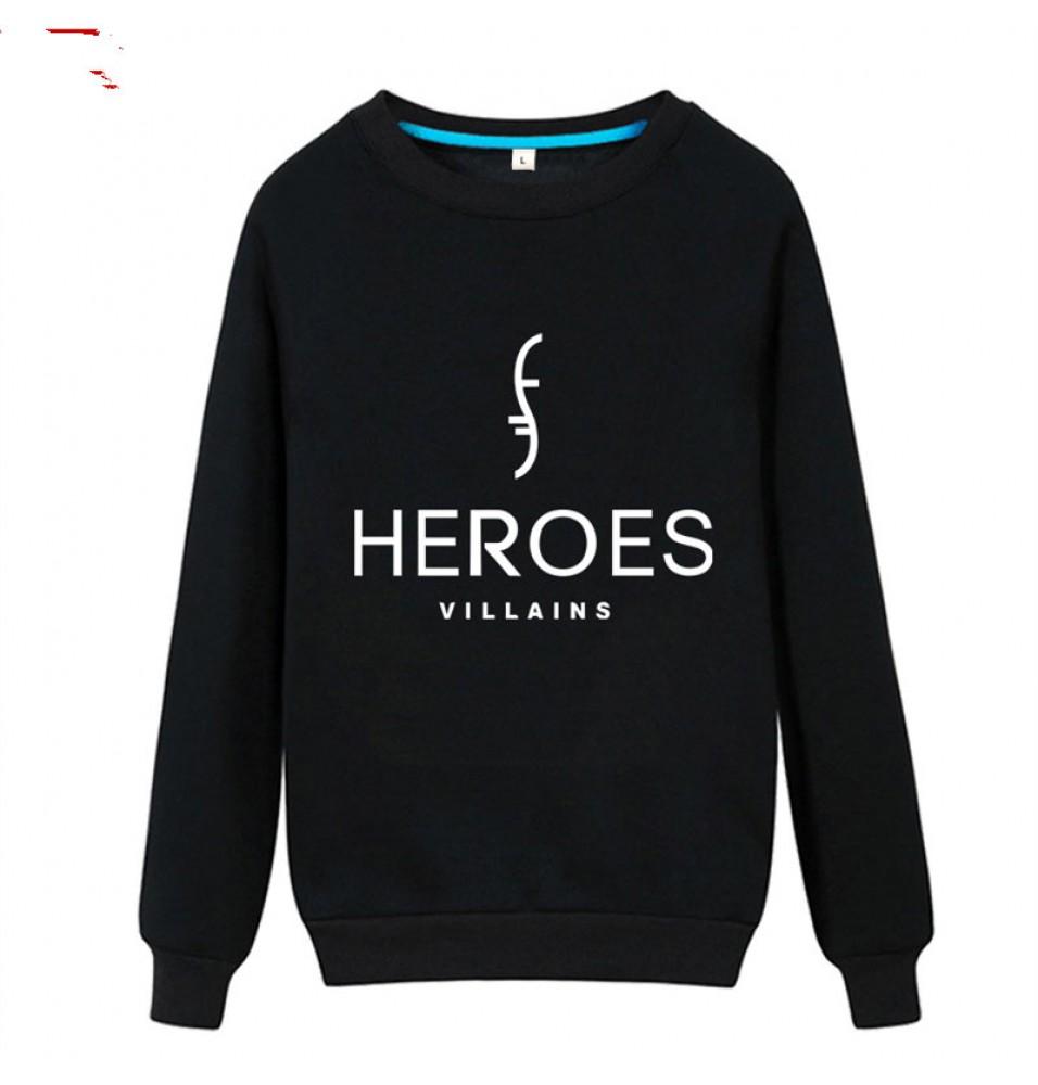 TimeCosplay NBC TV Show HEROES Long Tee Shirt Hoodies Sweatshirts