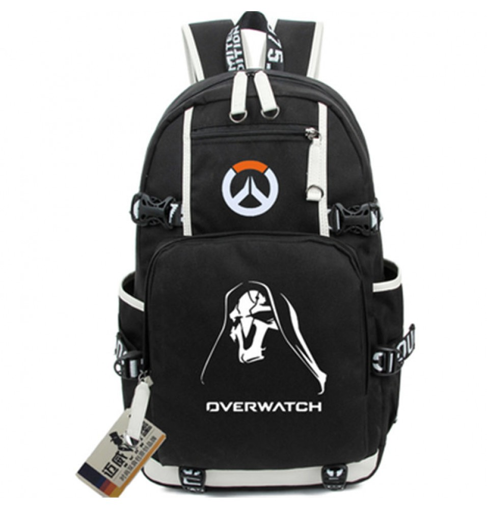 Timecosplay Overwatch Zenyata Icon Logo Cartoon Bag Backpack