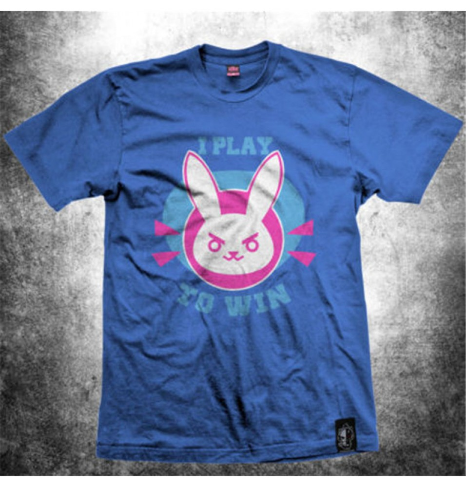 Timecosplay  OW Game Overwatch D.va Cosplay Tee shirt