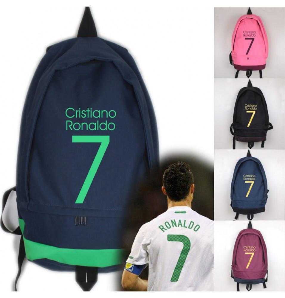 Timecosplay Real Madrid  Ronaldo 7 School bag Backpack