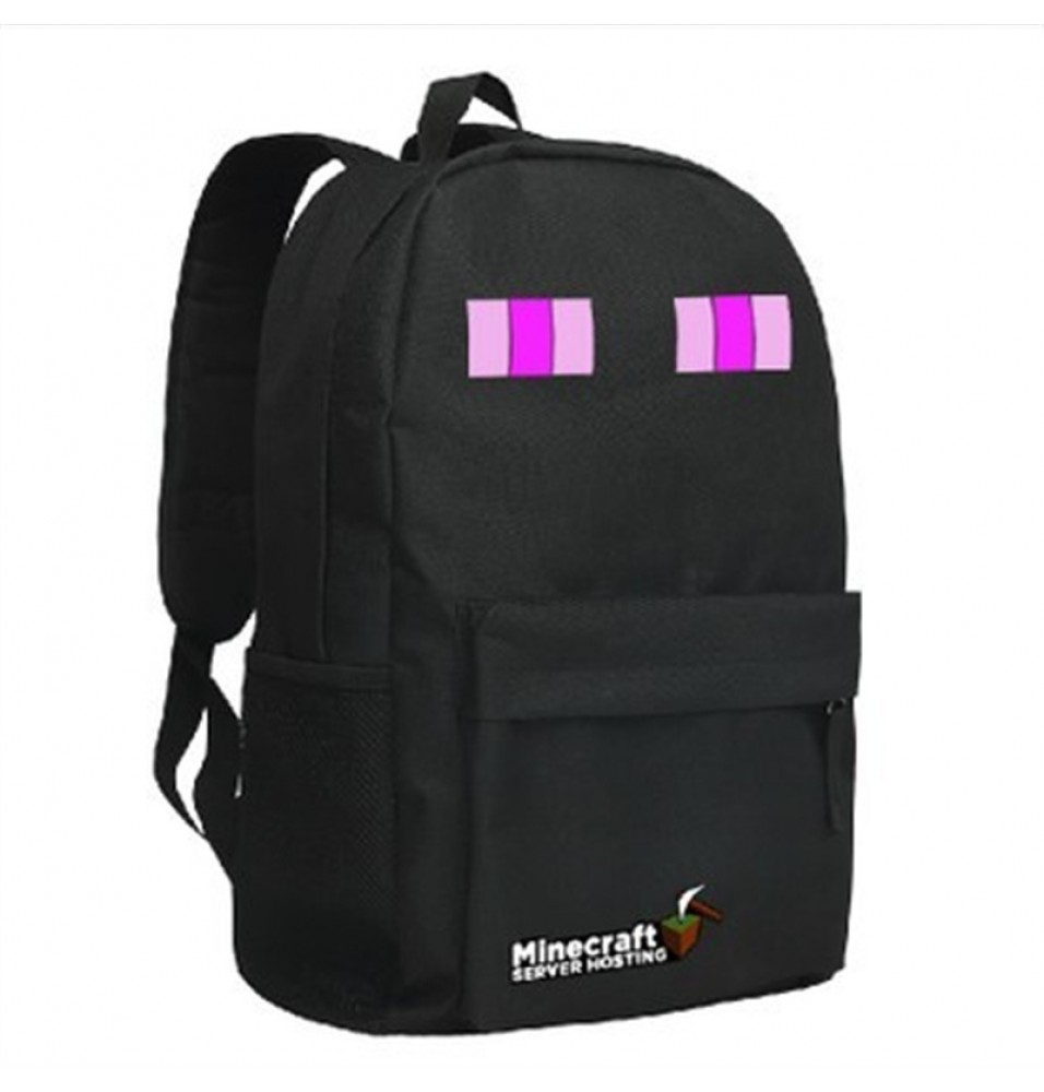 Timecosplay Minecraft SEnderman Cosplay Bag School bag Backpack