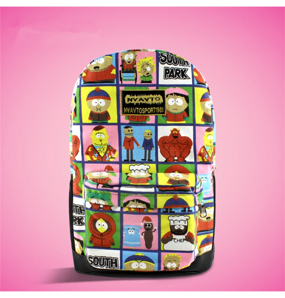 Timecosplay South Park 3D Shoulders Bag Schoolbag Backpack