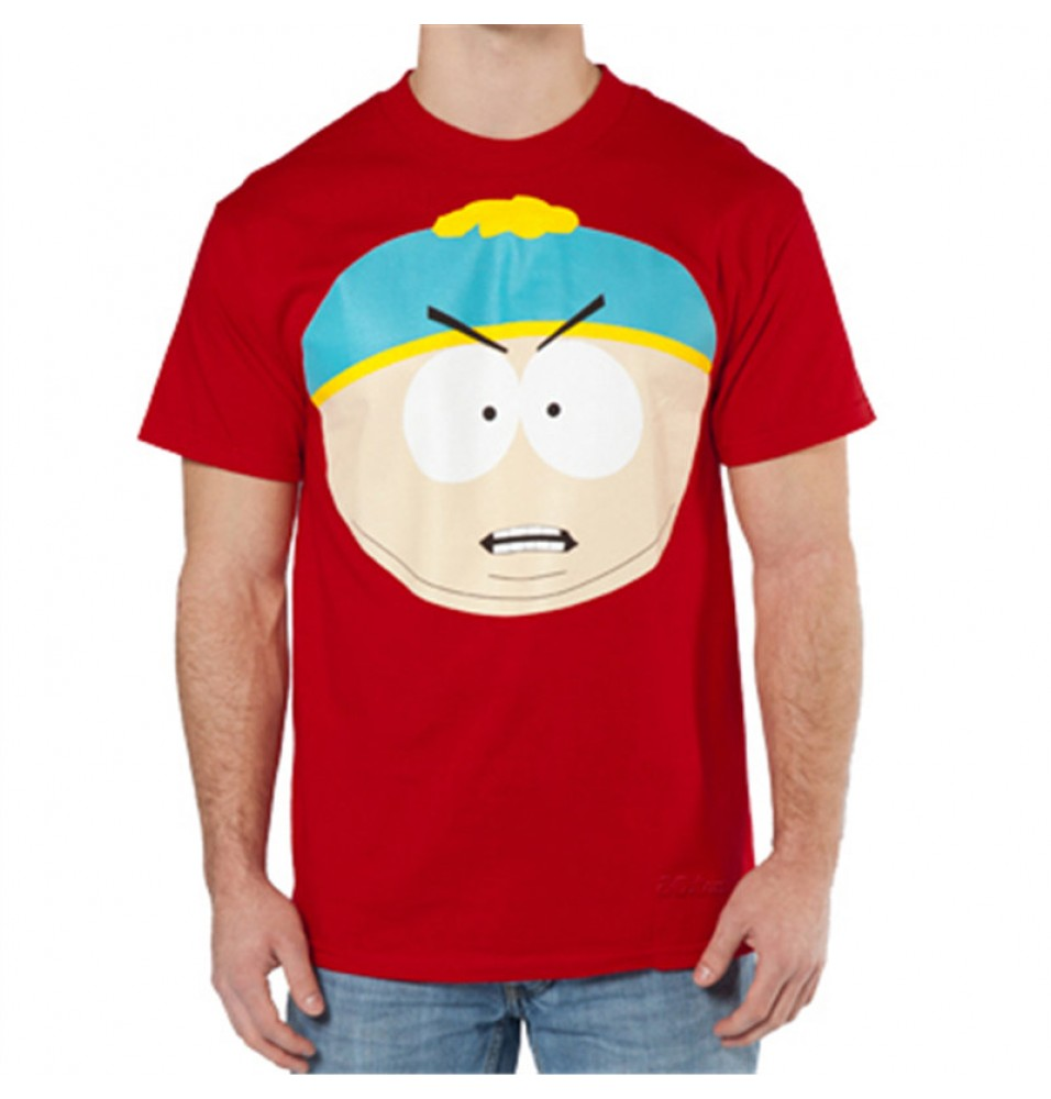 Timecosplay South Park Eric Theodore Cartman Short Sleeve Tee Shirts