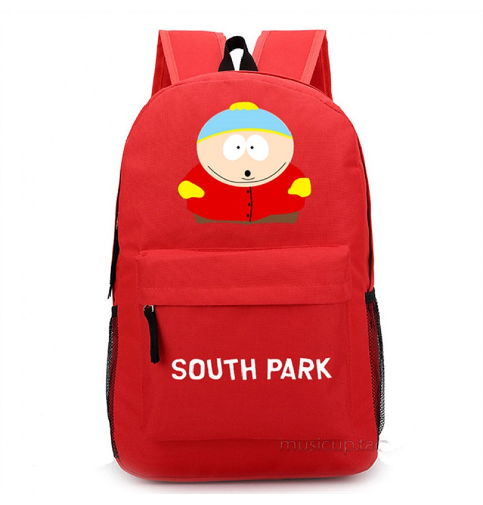 Timecosplay South ParkEric Theodore Cartman Shoulders Bag Schoolbag Backpack