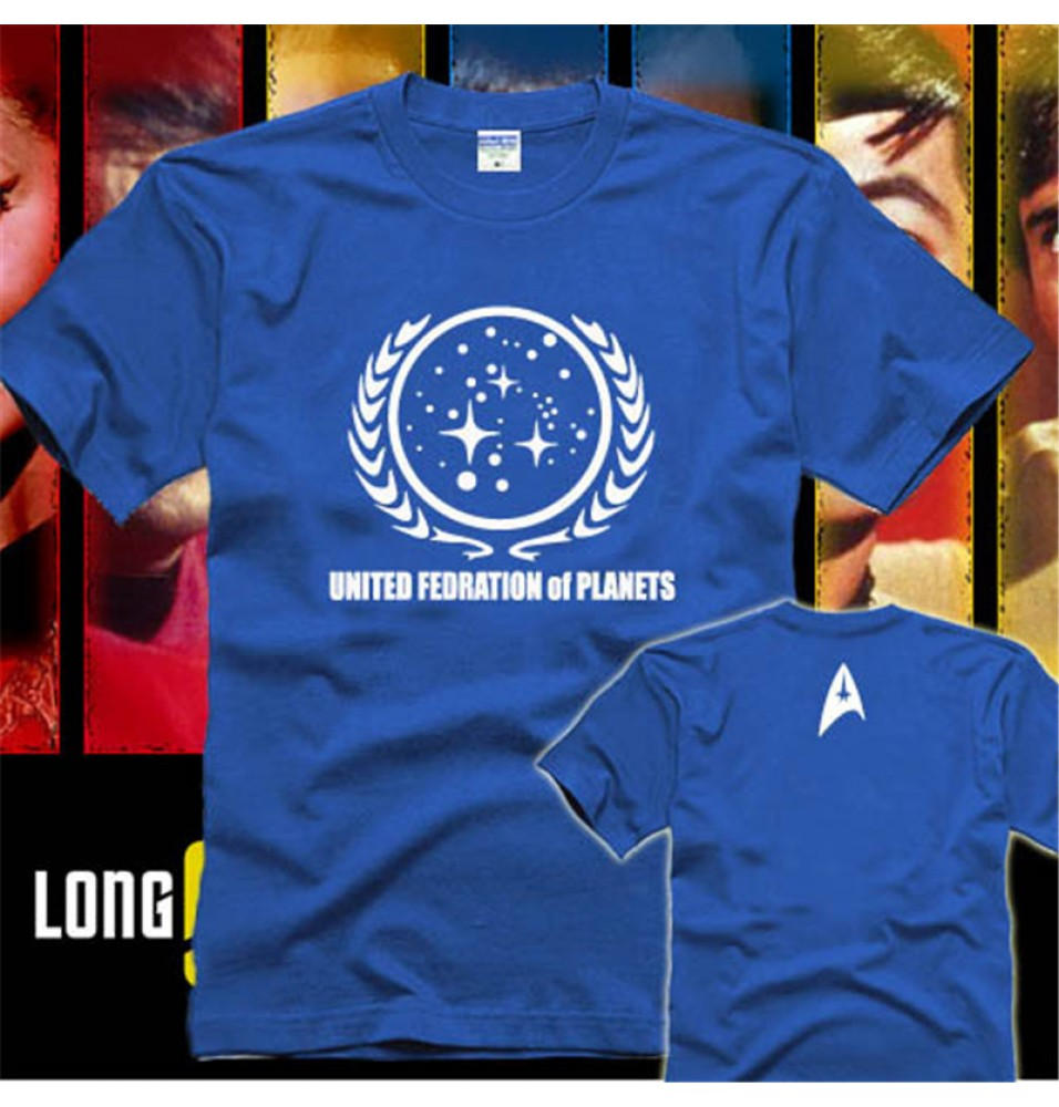 Timecosplay STAR TREK UNITED FEDERATION OF PLANETS T-Shirts