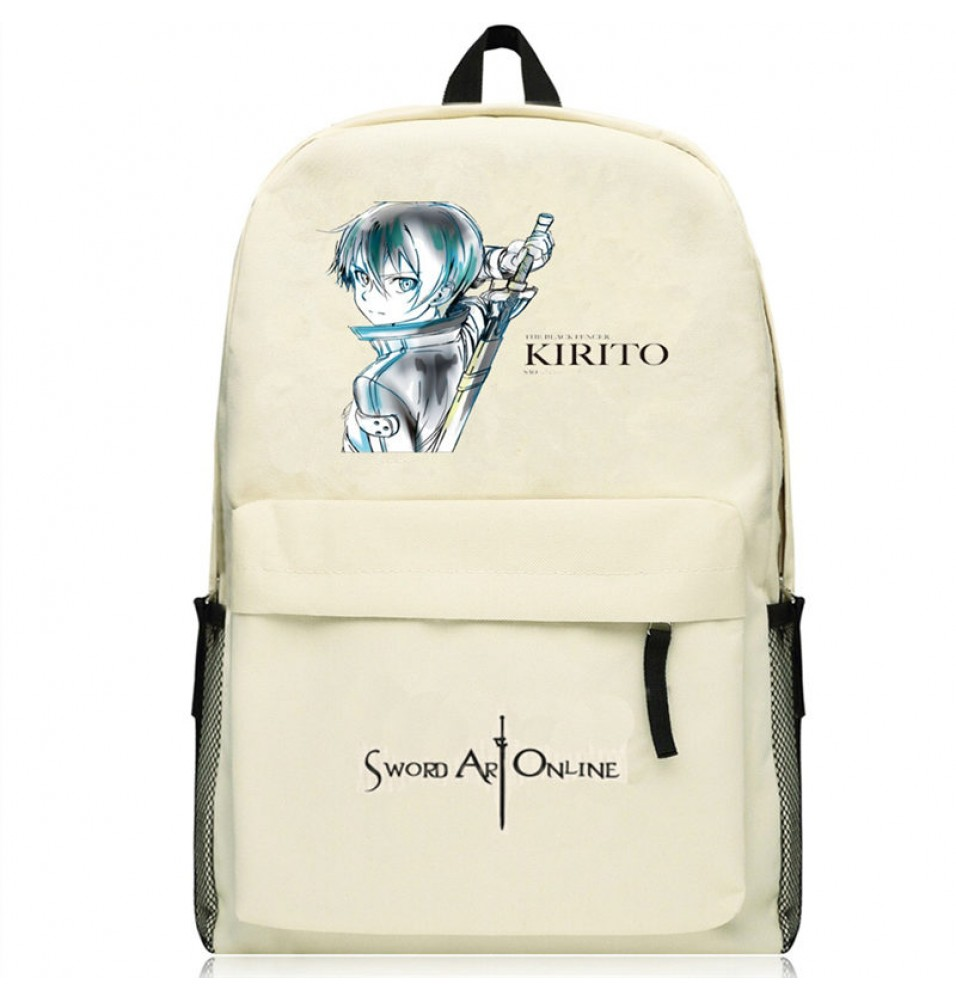 Timecosplay Sword Art Online Logo Schoolbag Backpack