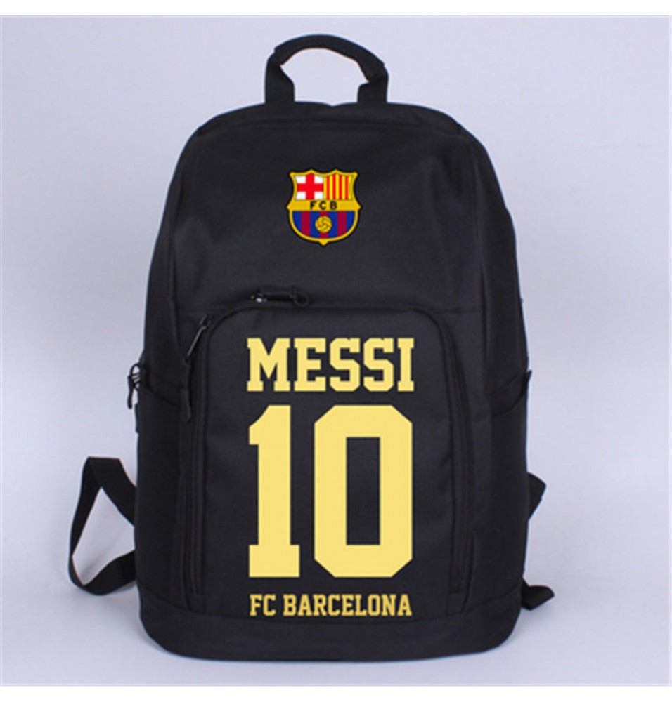 Timecosplay FC Barcelona Messi 10 Travel Shoulder School bag Backpack