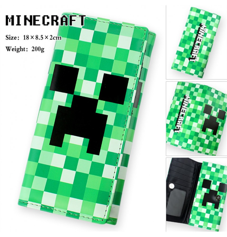 Timecosplay Timecosplay Minecraft Creeper Money Clip Wallet