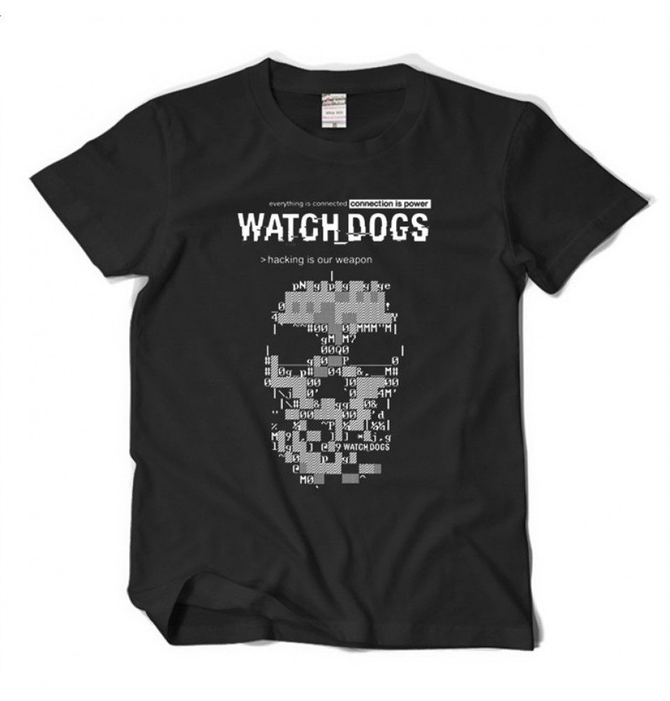 TimeCosplay Watch Dogs Tee Shirt T-Shirt