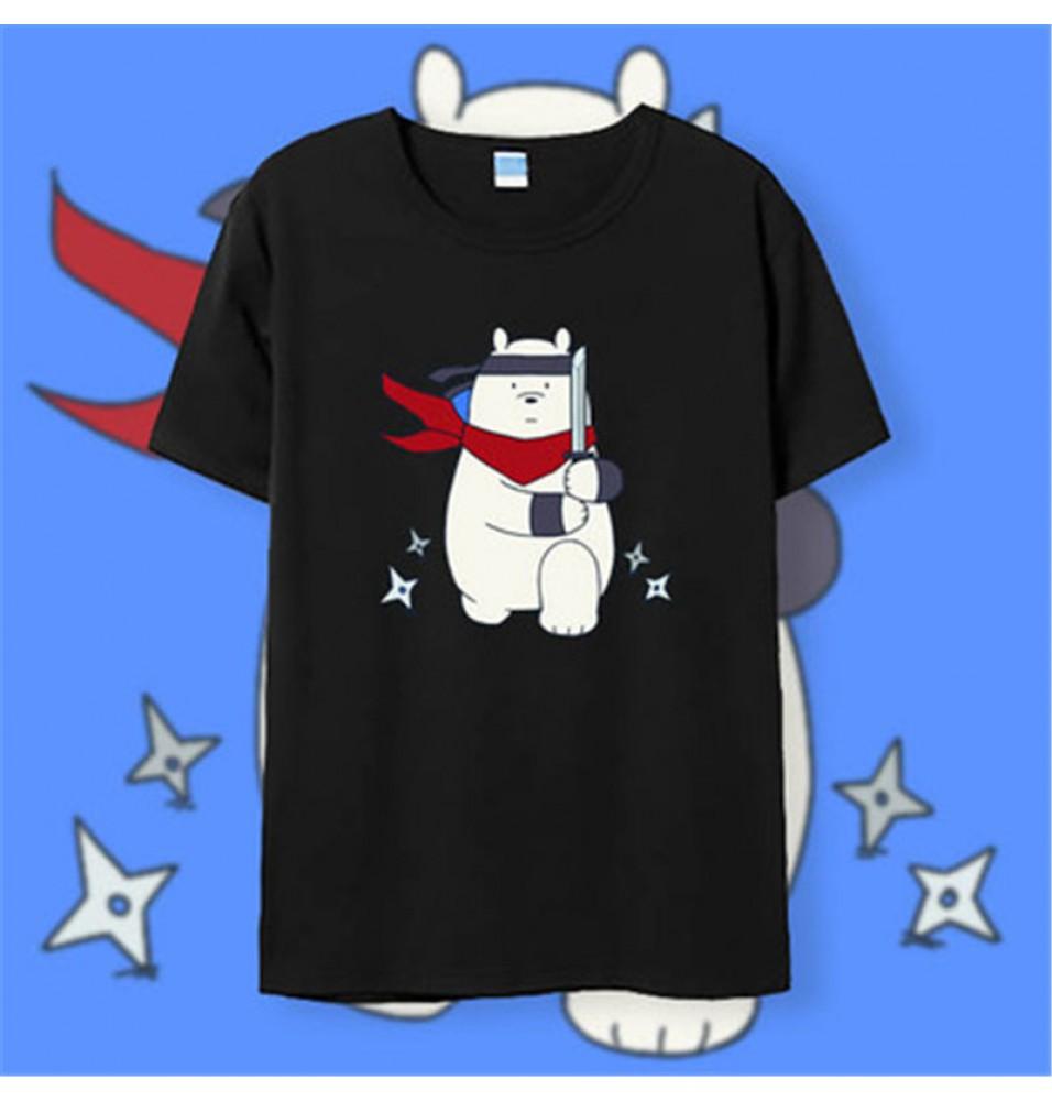 Timecosplay We Bare BearsIce Bear Tee Shirts