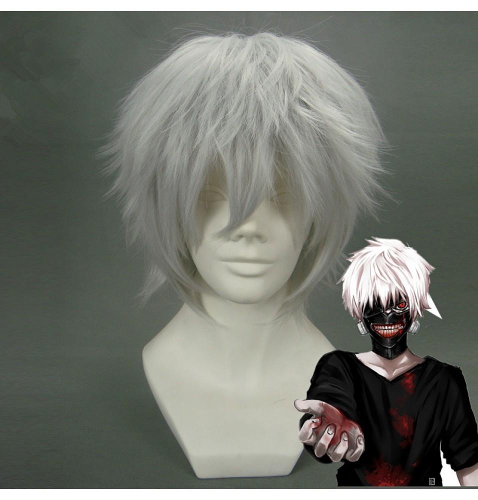 Tokyo Ghoul Ken Kaneki Hair Cosplay Wigs