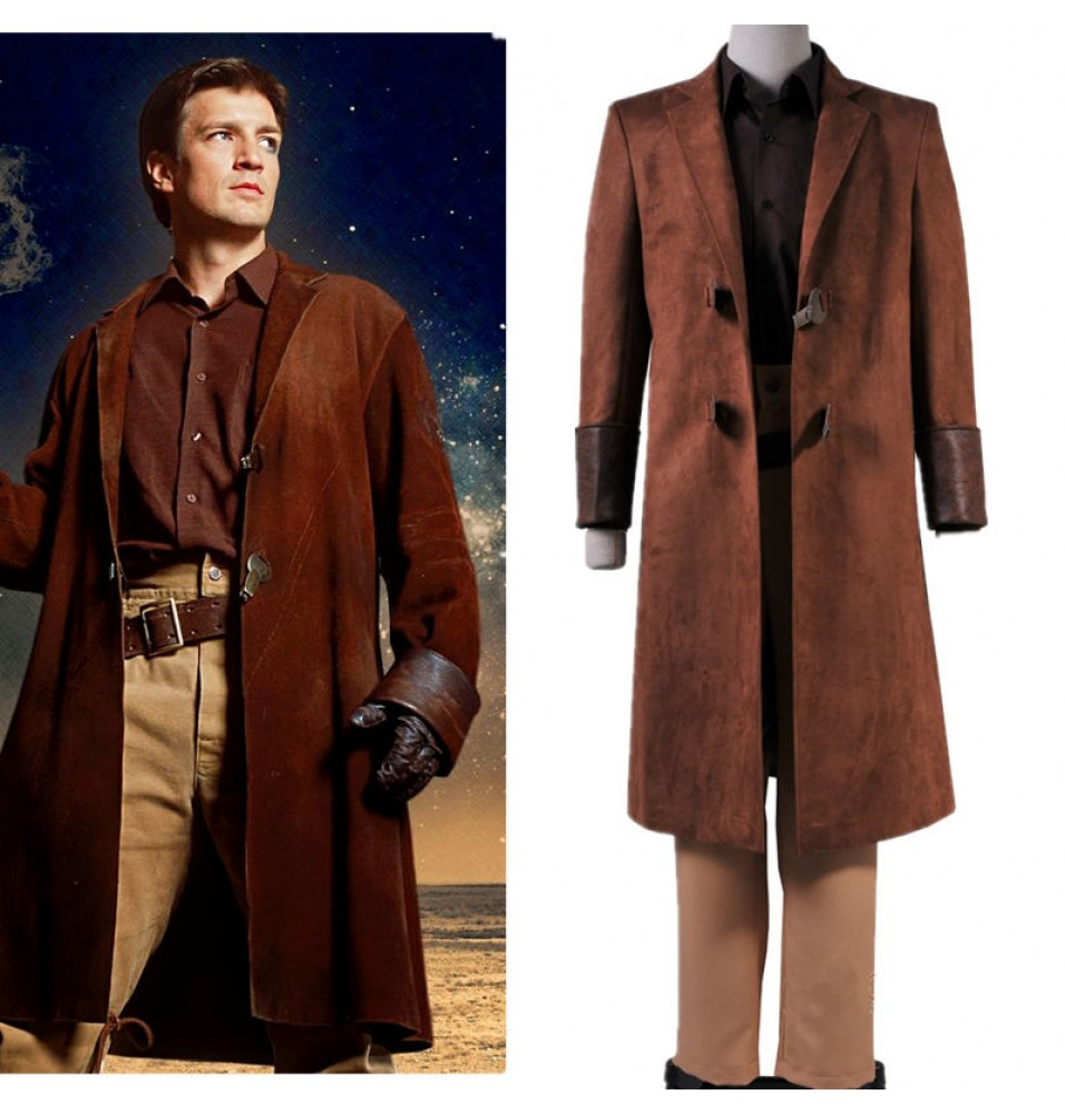 TV Firefly Cosplay Captain Malcolm Reynolds Costume
