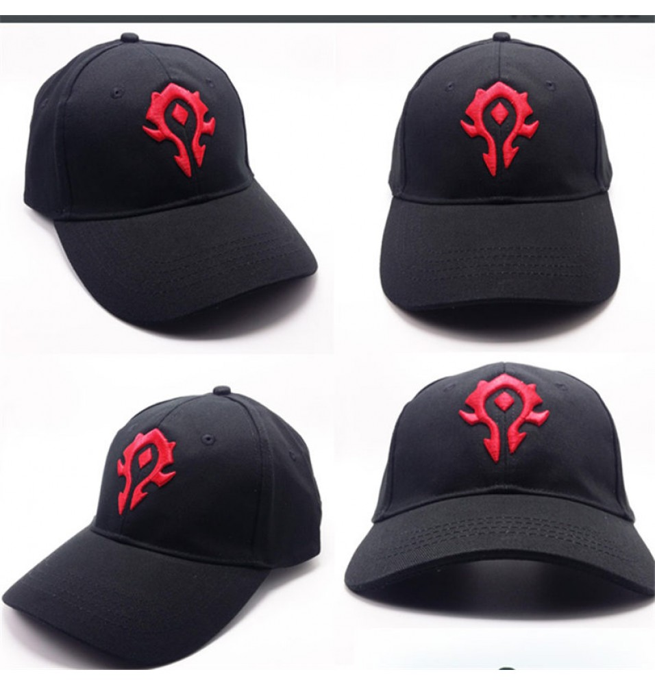 World of Warcraft The Horde Logo Cool Hat Baseball Cap