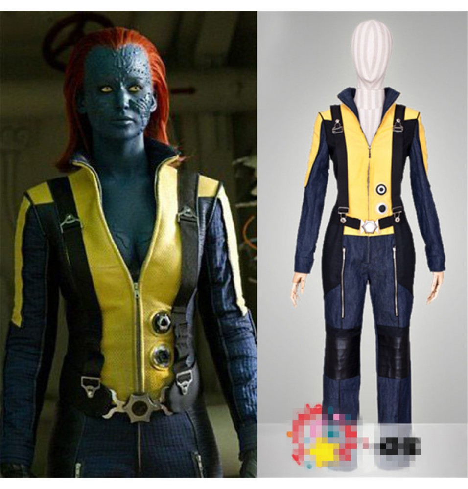 X-Men: First Class Mystique Cosplay Uniform Costume