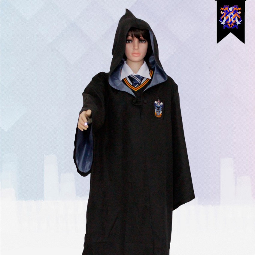 Harry Potter Ravenclaw School Uniform Robe