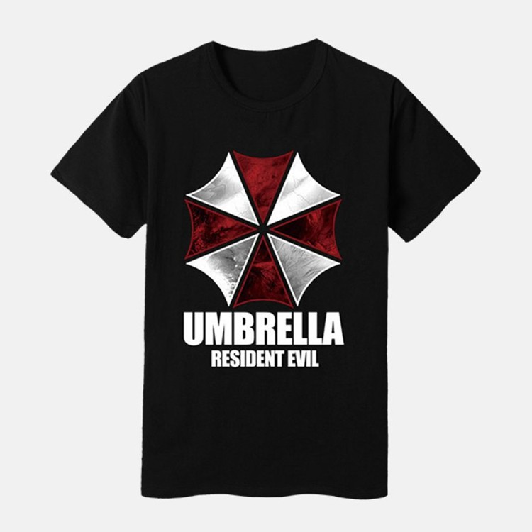 Resident Evil 6 The Final Chapter Umbrella Logo T-shirts