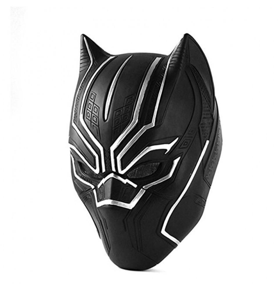 Captain America Civil War Black Panther Adult Latex Mask Full head Halloween Cosplay Helmet