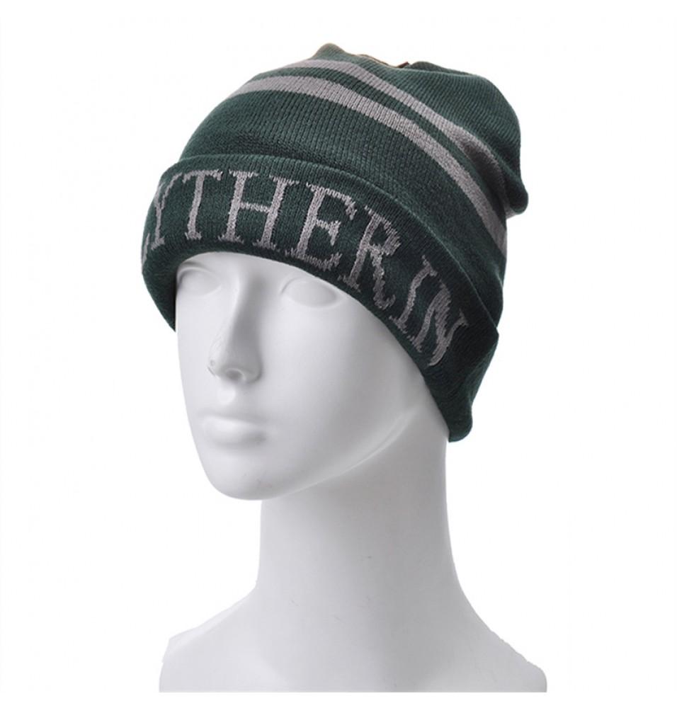 Harry Potter Slytherin Knit Hat Cap