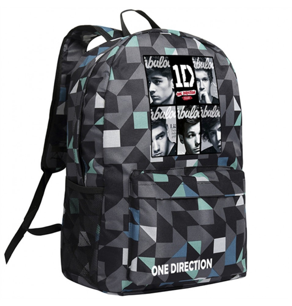 One Direction Image Backpack School Bags