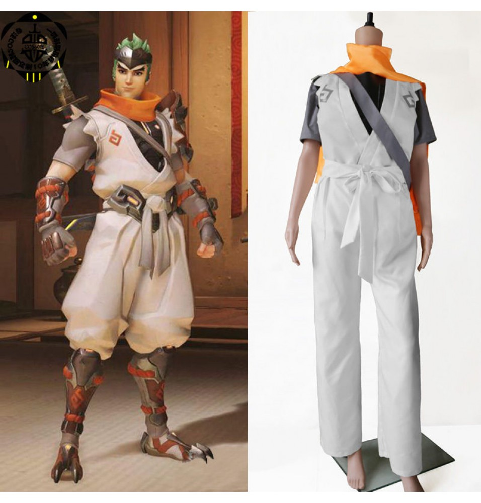Timecosplay OW Overwatch Genji Cosplay Halloween Costumes