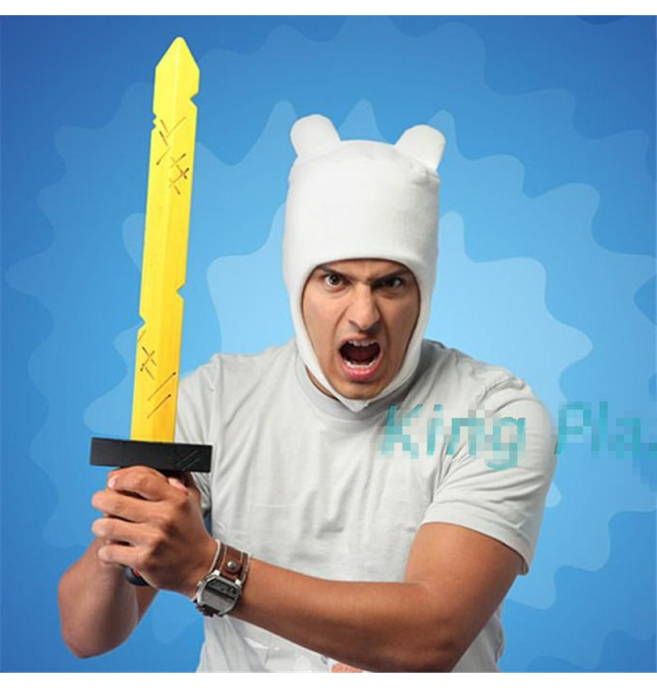 Timecosplay Adventure Time Finn Cosplay Cap Beanie Character Hat