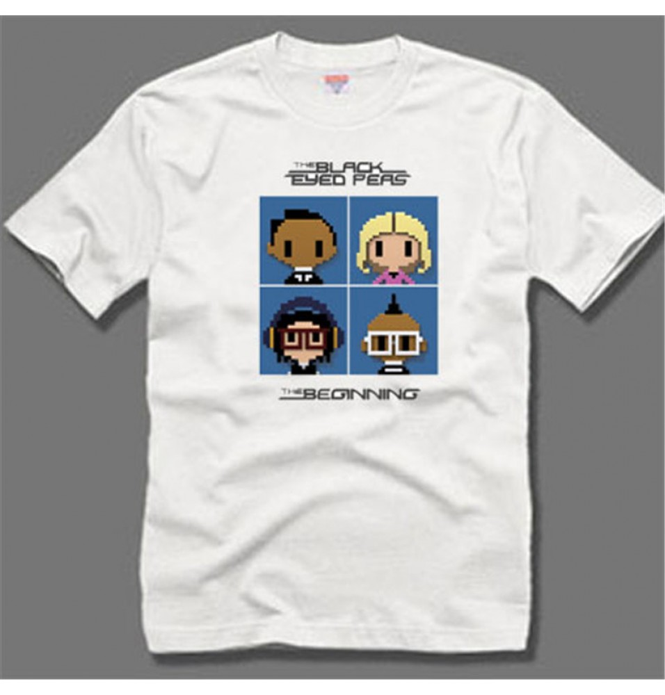Black Eyed Peas The End Logo Tee-Shirts