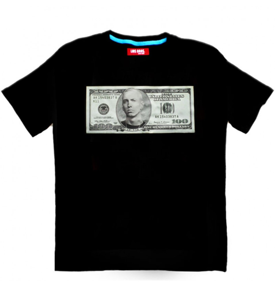 EMINEM  MONEY GOD Hip-Hop Style Tee Shirt T-shirt