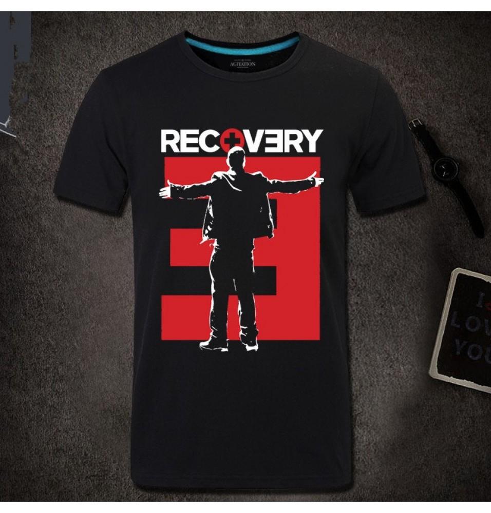 Eminem RECVERY Hip-Hop Style Tee Shirt T-shirt