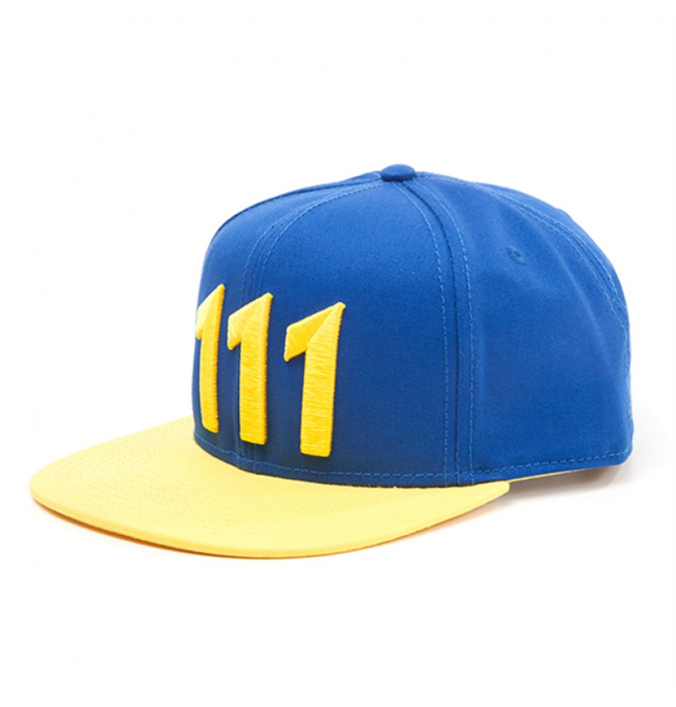 Fallout 4 Vault 111 Logo Baseball Cap Hat