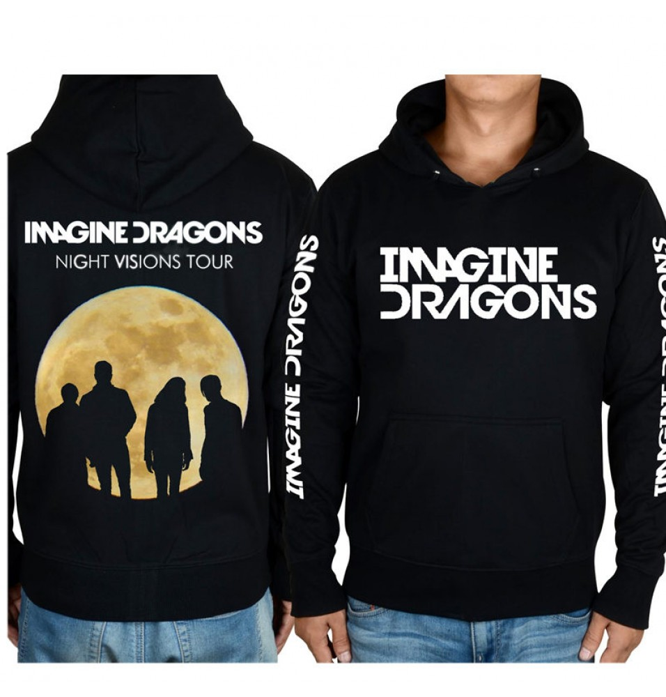 Imagine Dragons 3D Icon Zipper Hoodies
