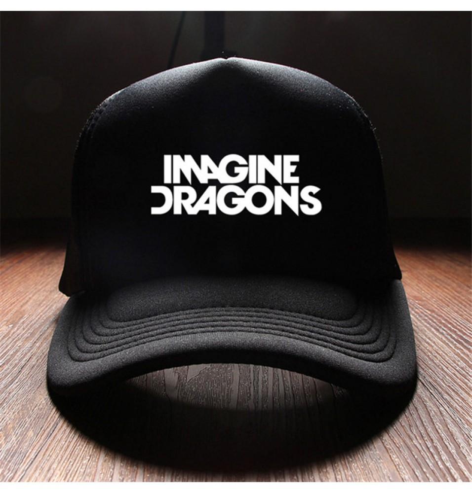 Imagine Dragons Logo Rock Baseball Cap