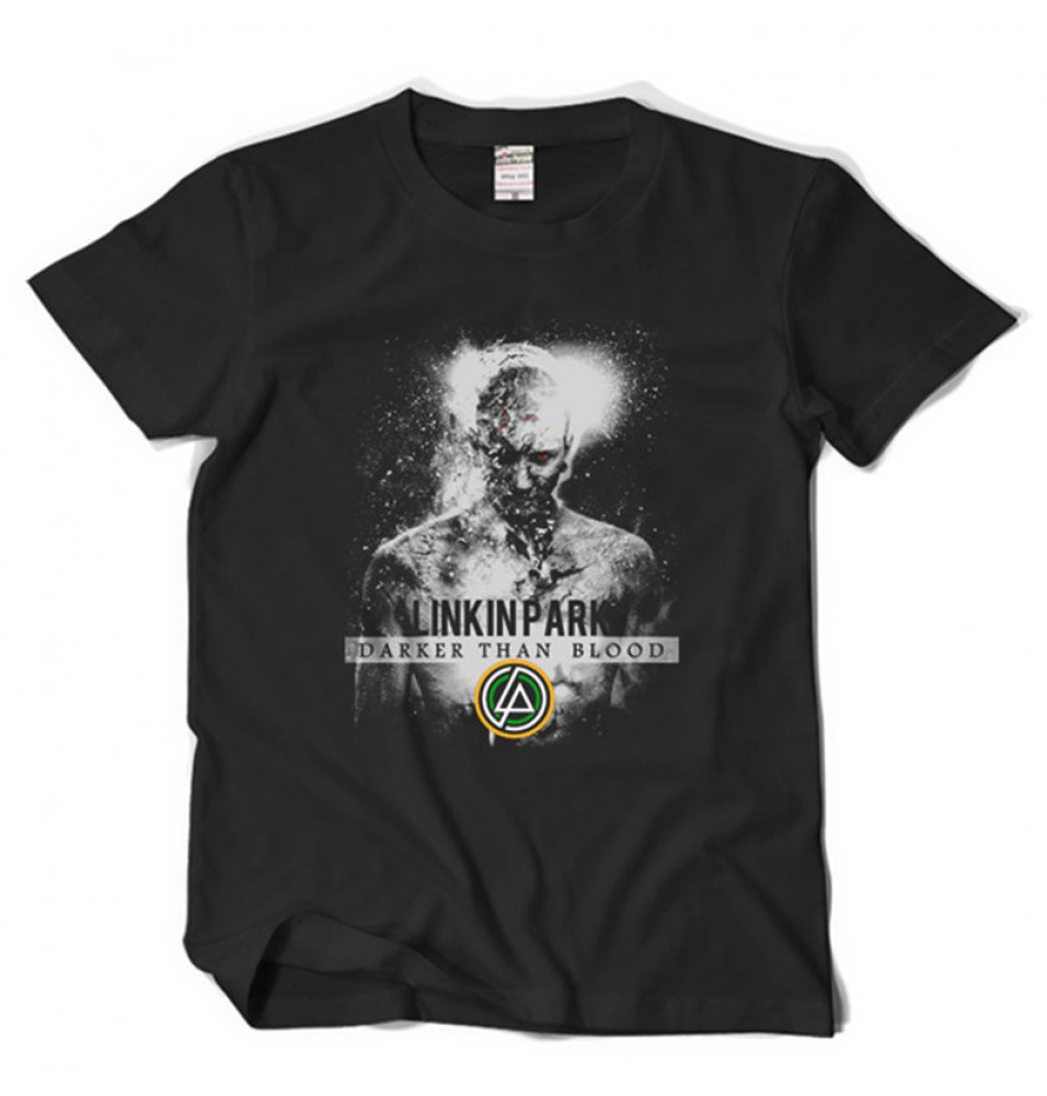Linkin Park Darker Than Blood Rock Tee Shirt T-shirt