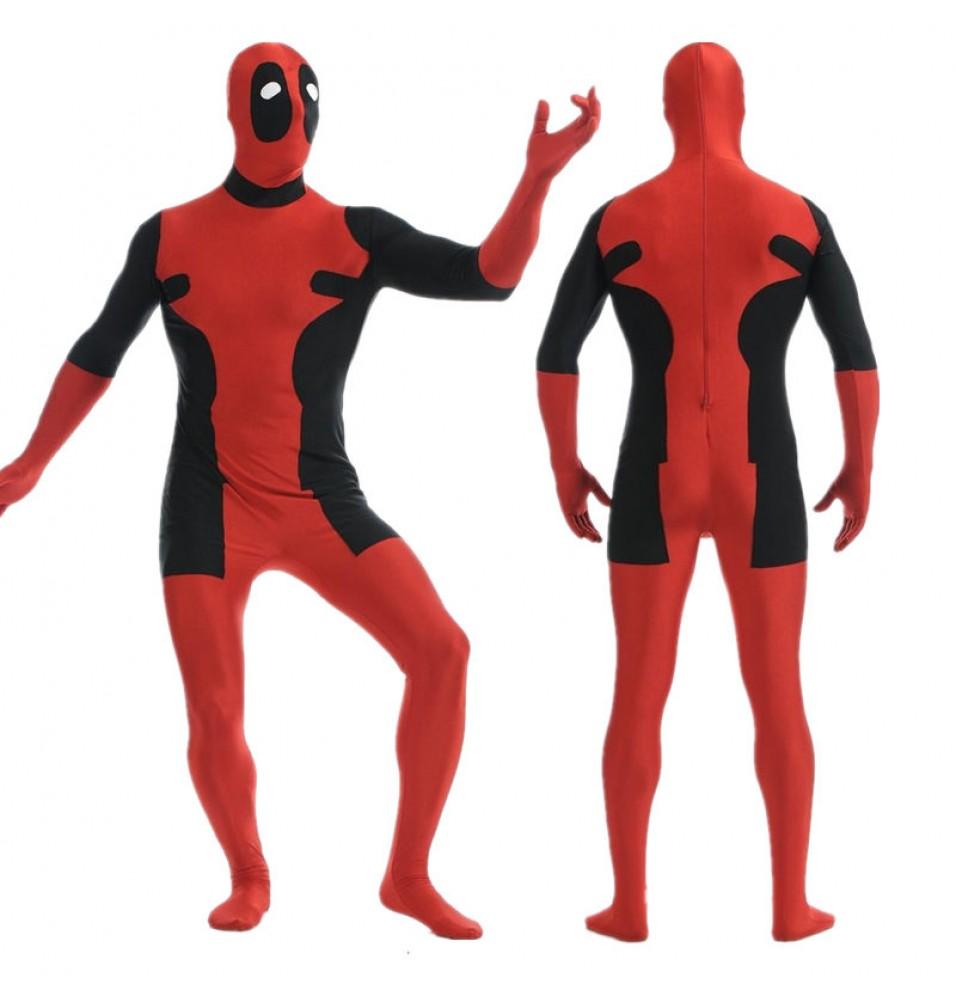 Marvel Deadpool Men ZenTai Cosplay Costume