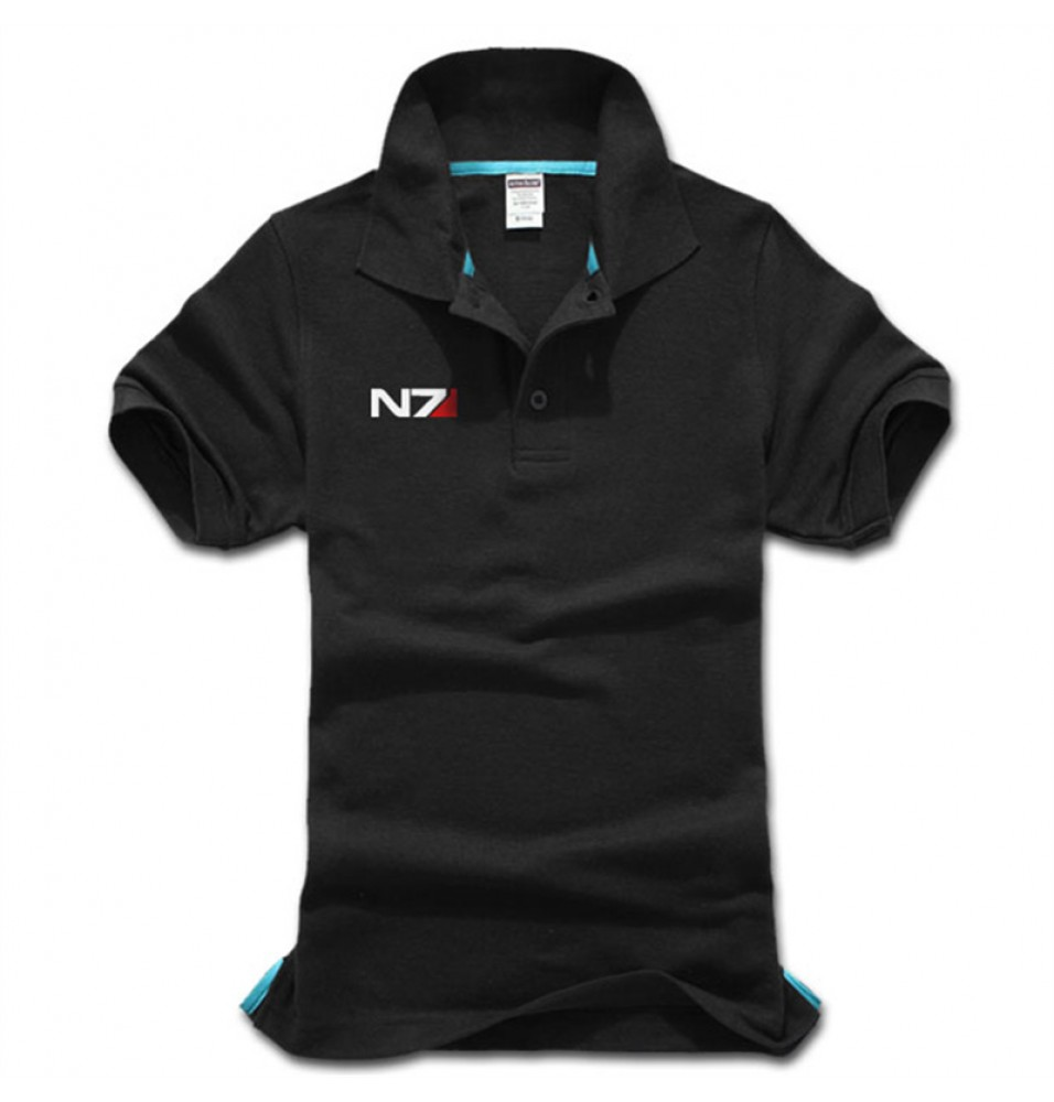 Mass Effect 3 N7 Logo Short Sleeve Polo