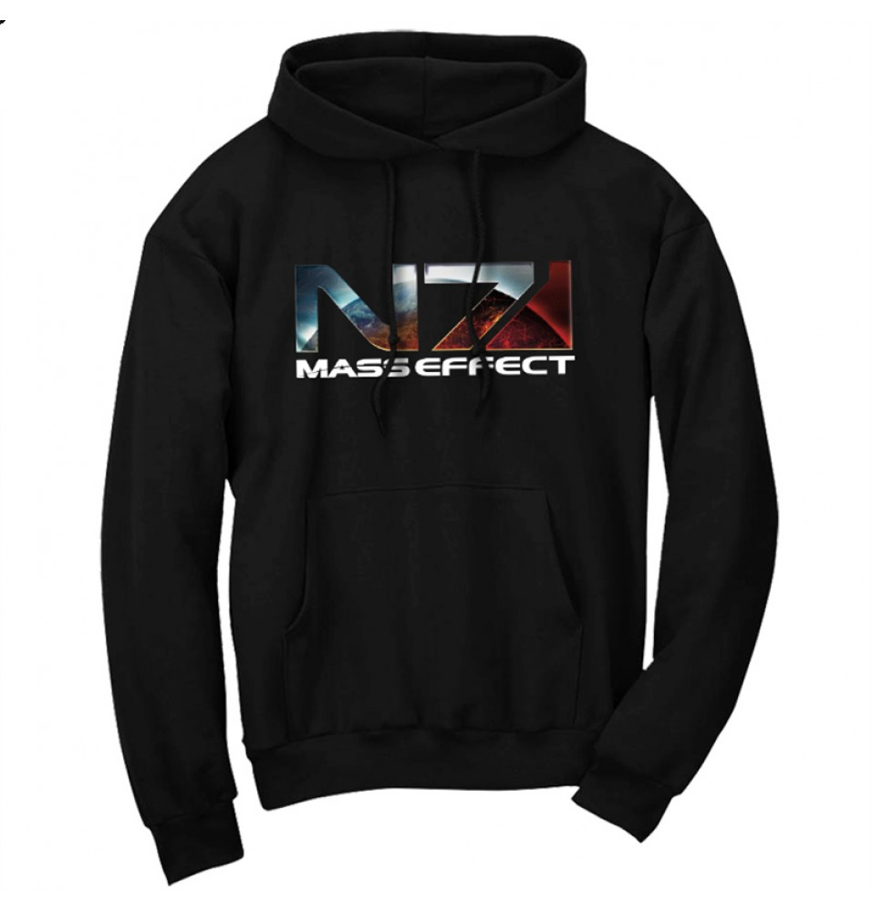 Mass Effect N7 Pullover Hoodies