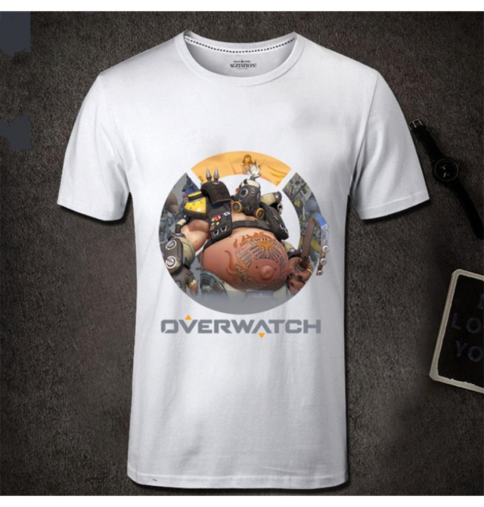 Overwatch Roadhog Men Short Sleeve T-shirt