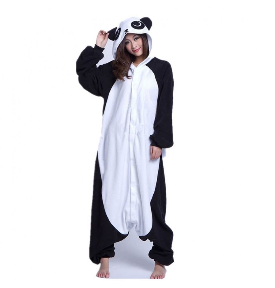 Panda Animal Onesie Kigurumi Pajama For Adults