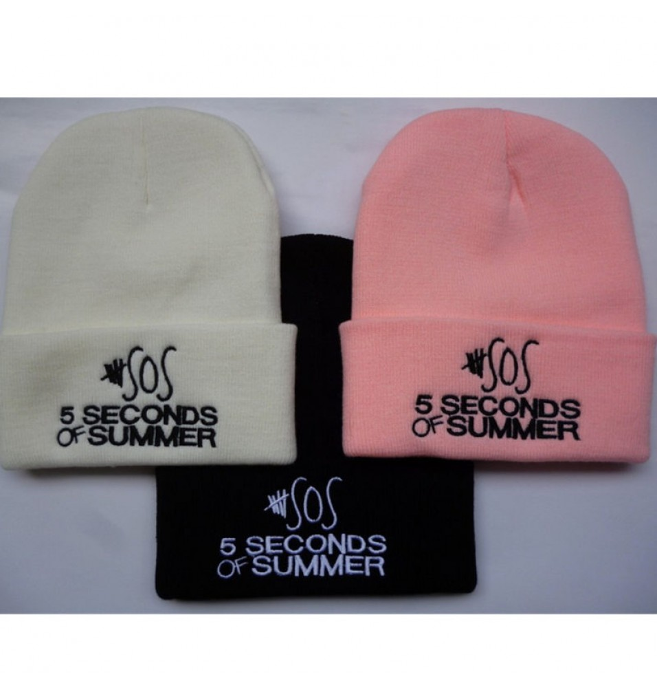 sos 5 seconds of sunmmer Logo Beanies Cosplay Cap