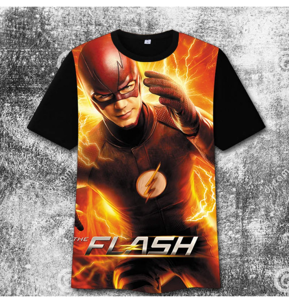 The Flash 3D image3 Print Harajuku Tee Shirt T-Shirts