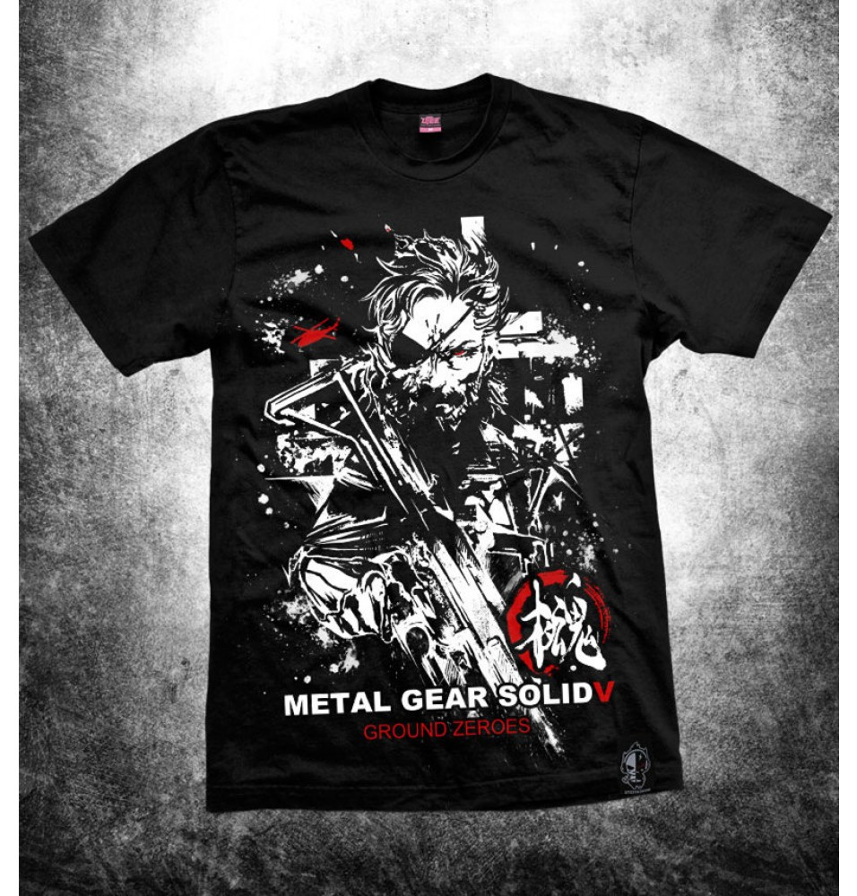 Timecosplay Metal Gear Solid5 MGS5 Tee Shirts