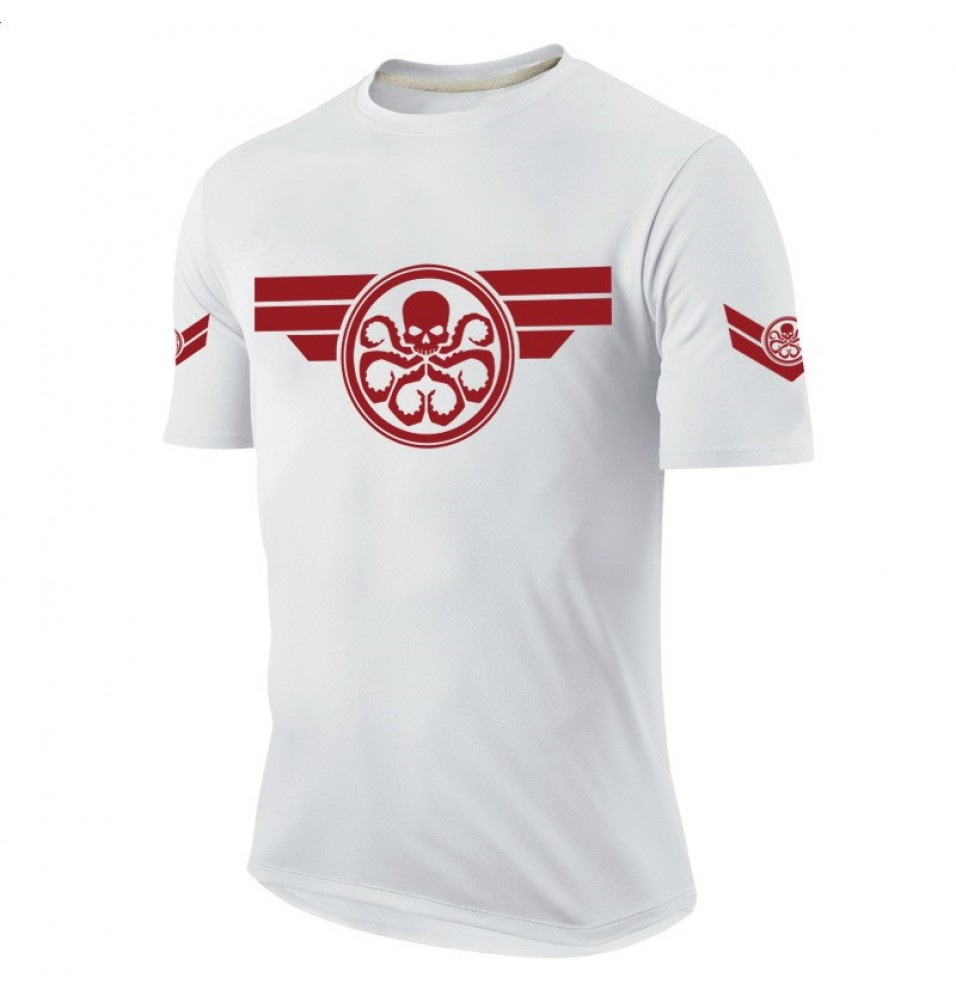 Timecosplay  Agents of S.H.I.E.L.D.Hydra Agents Logo Men Tee Shirt
